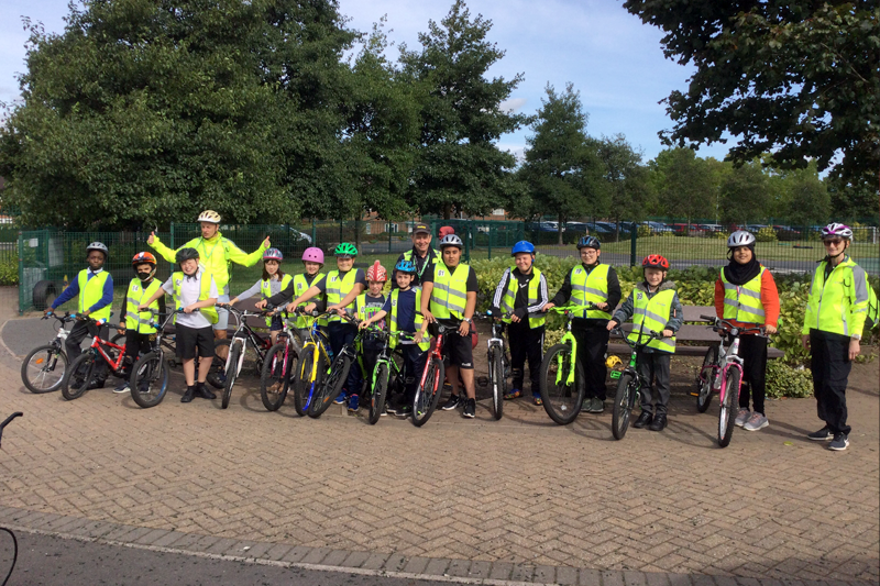"""Featured image for """"Years 5 and 6 Bikeability Course"""""""