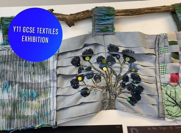 "Featured image for ""GCSE Textiles Exhibition 2021"""