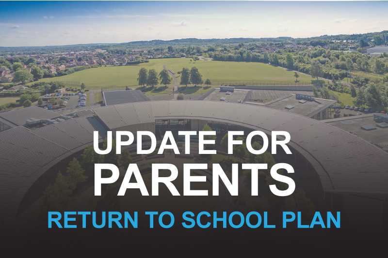 """Featured image for """"Update for Parents: Return to School Plan"""""""